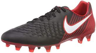 Nike Men's Magista Onda Ii Fg Football Boots, Multicolour (Black/University Red/White 061), 8 (42.5 EU)