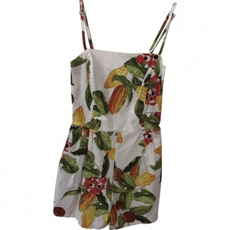 Isolda Multicolour Cotton Dress for Women