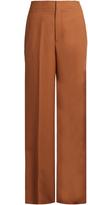 Helmut Lang Wide-leg wool-twill trousers