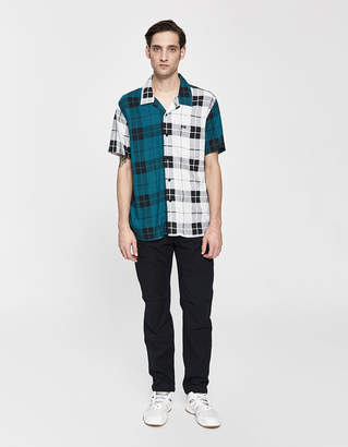 Obey Post Patched Button Up Shirt