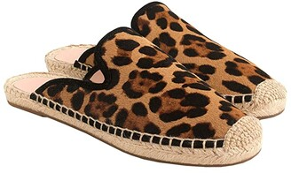 J.Crew Haircalf Espadrille Mule (Leopard) Women's Shoes