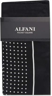 Alfani Men Dot Silk Pocket Square