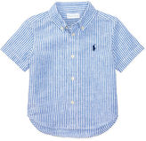 Ralph Lauren Boy Linen-Blend Shirt
