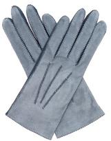 Bottega Veneta Bi-colour suede gloves