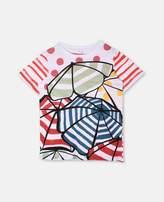 Stella McCartney arlow parasol print t-shirt