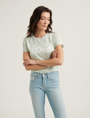 Lucky Brand Scripted Tee