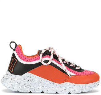 MSGM Hiking college-logo sneakers