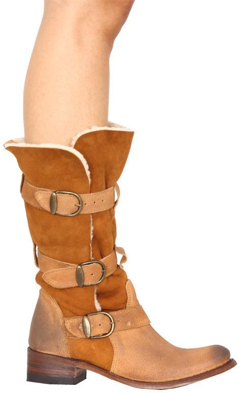 Koolaburra Tiffany Boot in Chestnut