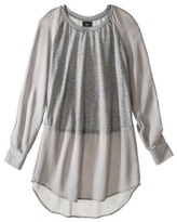 Mossimo Women's Longsleeve Tunic -Assorted Colors