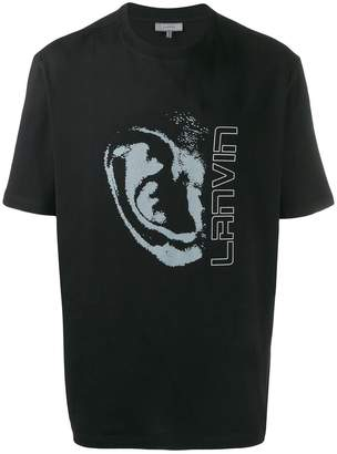 Lanvin graphic logo print T-shirt