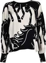 Sportmax Code Print Shirt