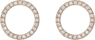 AUrate New York Diamond Circle Earrings