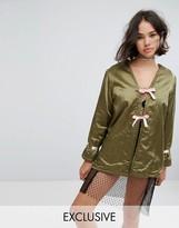 Reclaimed Vintage Revived Military Kimono Jacket