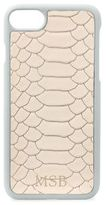 GiGi New York Personalized Python-Embossed Leather iPhone 7 Case