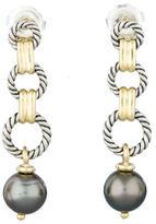 David Yurman Tahitian Pearl Earrings