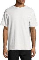 Helmut Lang Bound Seam Jersey T-Shirt, Gray