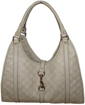 Gucci Hobo White Leather Handbags