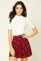 Forever 21 FOREVER 21+ Plaid Mini Skirt