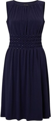 James Lakeland Sleeveless Diamantes Dress