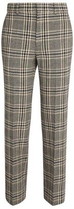 Gucci Check Straight Trousers