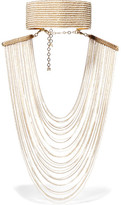 Rosantica Eleonora Convertible Gold-tone Pearl Necklace - one size