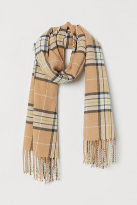 H&M Checked Scarf