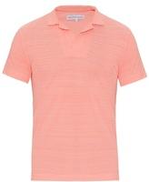 Orlebar Brown Felix Cotton-piqué Polo Shirt