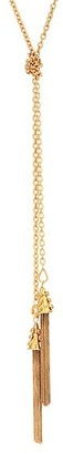 Sylvia Toledano Double Tassel Lariat Necklace