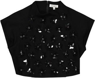 Isa Arfen Black Wool Top for Women