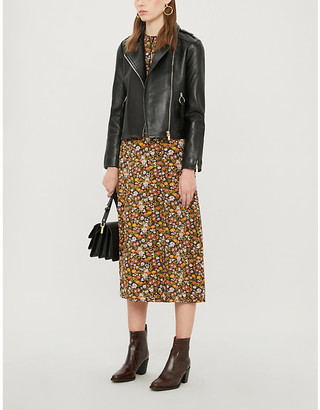 Claudie Pierlot Charmy leather jacket