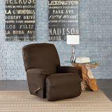 Sure Fit® Vintage Faux Leather Recliner Slipcover