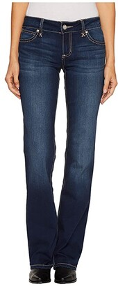 Wrangler Retro Mae Bootcut (Dark Wash) Women's Jeans