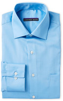 Geoffrey Beene Blue Sateen Classic Fit Dress Shirt