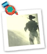 3dRose LLC qs_725_1 Rodeo - Rodeo Rider Western - Quilt Squares