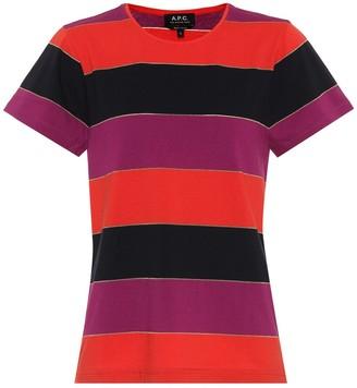 A.P.C. Millbrook striped jersey T-shirt