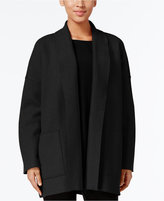Eileen Fisher Open-Front Shawl-Collar Jacket