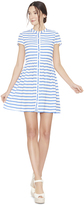 Alice + Olivia York Boxy Button Down Dress