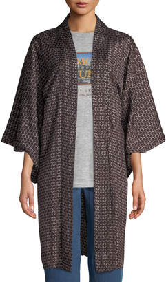 Elizabeth and James Vintage One-of-a-Kind Long Kimono