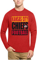 '47 Men's Kansas City Chiefs Compton Club Long-Sleeve T-Shirt