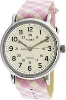 Timex Women's TW2R24200 Cloth Quartz Fashion Watch
