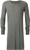 Rick Owens long T-shirt - men - Silk/Viscose - L