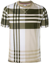 Moncler Gamme Bleu short sleeve check T-shirt - men - Cotton - S