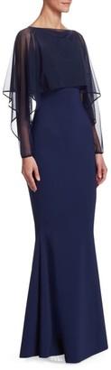 Chiara Boni Nomeda Illusion Gown
