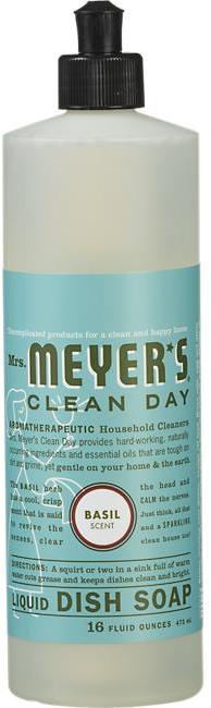Mrs. Meyer's Clean Day® Basil Dish Soap