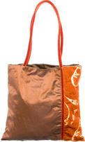 Etro Corduroy & Lamé Shoulder Bag