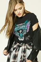Forever 21 Rock & Roll Graphic Tee