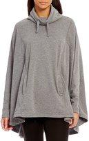 UGG Pichot Double Knit Fleece Turtleneck Poncho