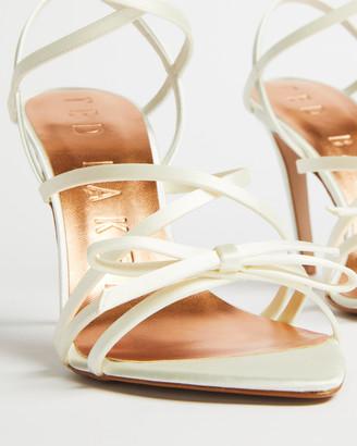 Ted Baker RELANAS Satin strappy heeled sandal