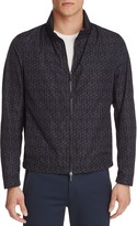 BOSS Carpio Geometric Print Nylon Jacket