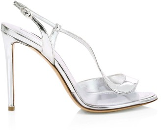 Nicholas Kirkwood S Pump Metallic Leather & PVC Sandals
